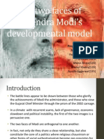 The Two Faces of Narendra Modi's Developmental Model