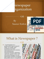 newspaper organisation