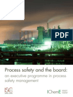 Process Safety and the Boardleaflet