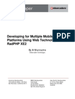 Mobile Radphp Whitepaper