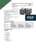 Data Sheet H5CX