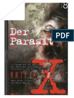 Akte X - Novels 08 - Der Parasit