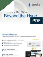 Big Data for BI - Beyond the Hype - Pentaho