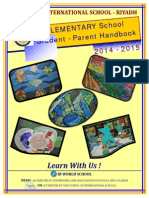ES Student-Parent Handbook 2014-2015