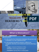Maslow's and Herzberg's Theory
