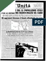 1a Unità 2 Novembre 1956