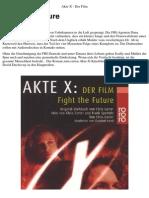 Akte X - Der Film - Fight the Future