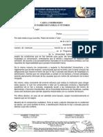Carta Compromiso 2014