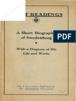 Brief Readings A SHORT BIOGRAPHY OF SWEDENBORG John C Ager Swedenborg Foundation