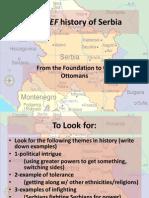 4. BRIEF History of Serbia