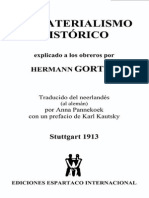 Hermann Gorter - El Materialismo Histórico Explicado a Obreros