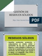 Gestión de Residuos Sólidos 12