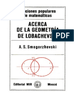 34128318 Acerca de La Geometria de Lobachevski