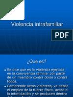 Violencia Intrafamiliar Derechos Humanos
