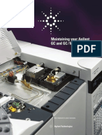Maintaining Your Agilent GC and GCMS Systems