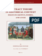 (Brill s Studies in Intellectual History 187 )Deborah Baumgold-Contract Theory in Historical Context-Brill Academic Publishers(2010)