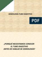 Semiología Tubo Digestivo (Esófago)