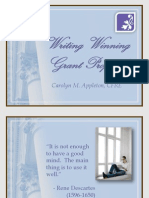 Advancedgrantwritingworkshoppp2!3!10 Writingawinning 100321124759 Phpapp01