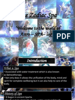 Zodiac Spa Ppt