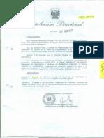 RESOLUCION DIRECTORAL 2664