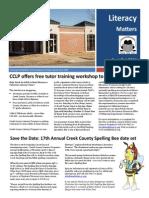 Sept Oct 2014 Newsletter