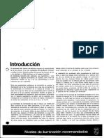 IMP Niveles de Iluminacion Recomendados (RESUMEN PHILIPS)