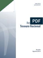 Relatório do Resultado do Tesouro Nacional no mês de julho de 2014