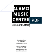 Alamo Music Center BuyBoard Catalog