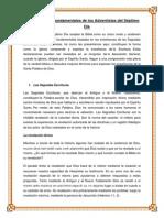 Doctrinas Adventistas Del 7mo Dia