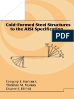 76731201 Hancock Cold Formed Steel Structures to the AISI Specification