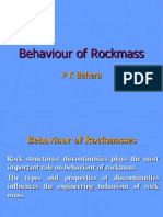 Behaviour of Rockmass