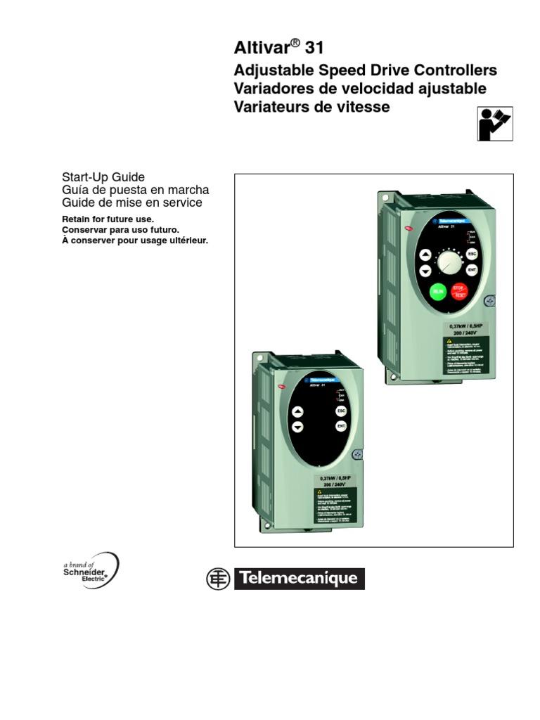 Altivar 28 Manual Pdf Telemecanique Wiring Diagram Drives Enthusiast Diagrams