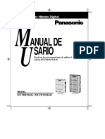 Manual de Usuario KX-TD816AG KX-TD1232AG