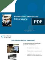 Plataformas alternativas (1)