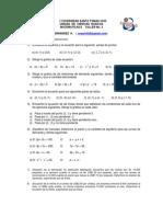Taller 3 Ecuaciones Lineales