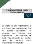 II.2.Sociedad y Estado, Poder, Politica, Derecho