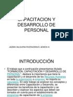 Capacitacion y Desarrollo de Personal Power Point