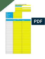 Matrices de Evaluación 2013