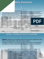 Economia Unidad I Introduccion a La Economia 2013