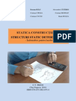 232112542 Statica Constructiilor Structuri Static Determinate Indrumator Pentru Lucrari