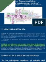 4º Clase. Derechos y Obligaciones Básicas 1 y 2 Medio - Copia (2)