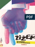 Slavoj Zizek - En Defensa de La Intolerancia