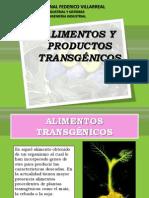 Alimentos y Productos Transgénicos
