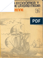 UNFV ANTROPOLOGIA Pirenne, Henry - Historia Economica y Social de La Edad Media
