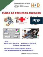 Curso Primeros Auxilios Cepi 2014.1