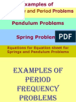 10.28.10.Examples of Pendulum and Spring Problems Answer KEY (1)