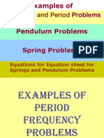 10.28.10.Examples of Pendulum and Spring Problems Answer KEY