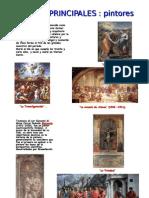 40- Principales Pintores