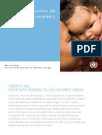Estrategia Mundial de Salud de Las Mujeres de Los Niños