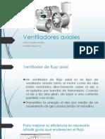 Ventiladores de Flujo Axial Capitulo11y 12
